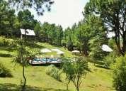 Complejo de cabañas en villa berna (entre villa gral belgrano y la cumbrecita)