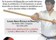 Clases de karate do y kobudo okinawense