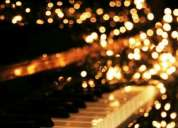 Clases de piano, teclado, audioperceptiva, armonía en colegiales/belgrano, caba