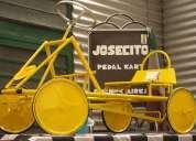 Josecito kartings a pedal