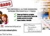 Clases particulares de matemática, física y dibujo tecnico