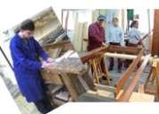 Curso de carpinteria profesional a distancia con materiales