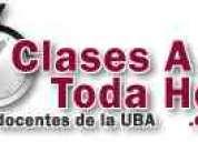 Clases particulares y cursos biologia cbc