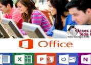 Clases particulares – office (word excel access powerpoint outlook)