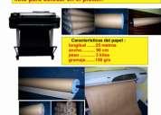 Venta de papel semipuro para molderia
