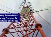 Venta y fabricacion de torres para radios de fm y telecomunicaciones-internet