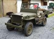 Vendo jeep willys hotchkiss m201