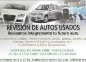 Revision de autos usados precompra