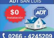 Alarmas adt 0266-4245209 - todo san luis