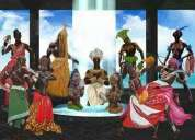 Mae fabiana de oshala  pae daniel de bara templo africanista culto  ancestro