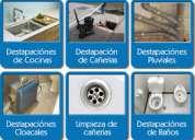 """Destapaciones"""""""" caseros"""""""", 1554208632 con maquina las 24 hs"""