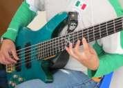 Clases de  guitarra rock técnica y estilos