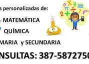 clases particulares de quÍmica y matemÁtica - primaria y secundaria