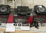 En venta 2x pioneer cdj-2000 nexus más 1 djm-900 nexus mezclador