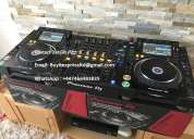 2 x pioneer cdj-2000nxs2  y 1 x djm-900nxs2 dj mixer costó sólo $3000usd