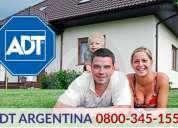 Adt buenos aires 0800-345-1554 - alarmas para hogar y empresas