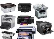 Reparacion de impresoras en zona oeste (moreno,san miguel,moron,ituzaingo y parque leloir)