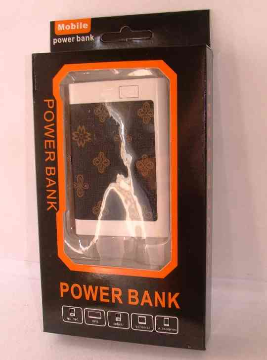 POWER BANK 2500 mhA diseño simil billetera