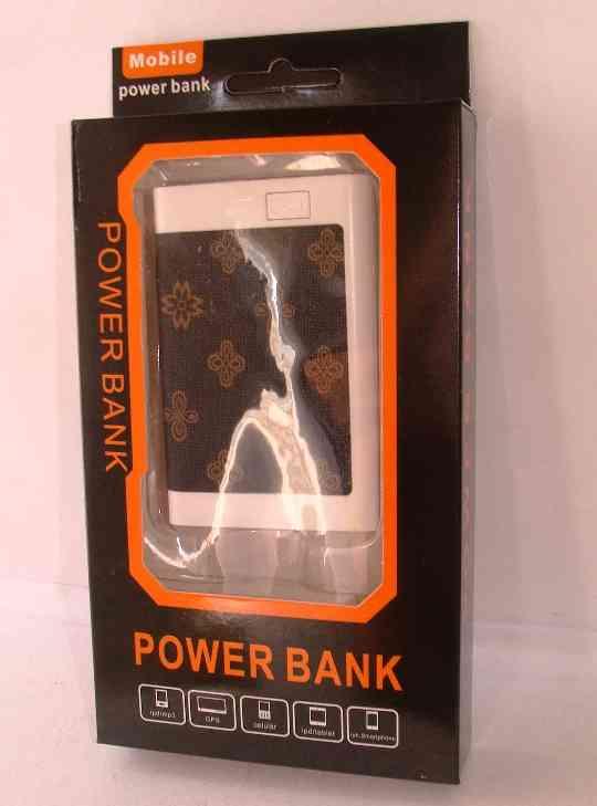 POWER BANK 2500 mhA diseño simil billetera