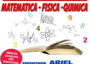 Profesor matematica,fisica y quimica