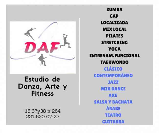 Estudio DAF Danza, Arte y Fitness