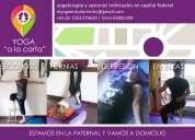 Yogaterapia individual en salón (la paternal) y a domicilio (capital federal)