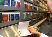 Comprar sus títulos de documentos de viaje y de la escuela originales registrados y no registrados.
