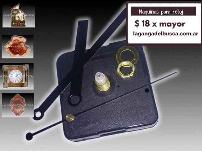 Maquinas para reloj ideal para artesanias completa