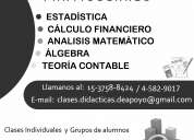 Estadistica y calculo financiero 15-3758-8424 // 4582-9017