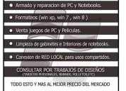 Tecnico reparacion de pc  configuracion de redes