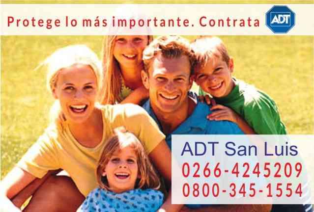 ADT San Luis 0266-4245209 - Alarmas para el hogar y/o empresa