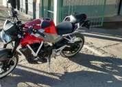 Vendo excelente motocicleta hyosung exiv 250