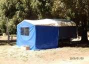 Vendo trailer,dormitorio y comedor diario