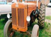 Vendo tractor hanomag c/ cabina, contactarse.