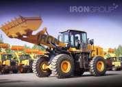 Pala cargadora 3m3 iron 950 linea nueva !