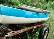 Excelente canobote con trailer y flotadores