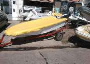Excelente bote lagunero de 4 mts