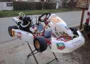 Excelente karting chasis vara nuevo