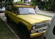 Vendo excelente jeepp motor tornado