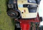 Hermoso camion iveco tector+ acoplado
