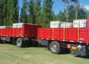 Acoplado , batea , semirremolque , camion , furgon