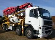 Putzmeister pumi 213 / camion volvo.