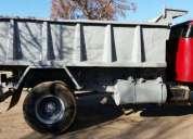 Excelente camión volcador volvo 495 modelo 1970
