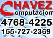 Chavez computacion reparacion servicio tecnico pc commputadoras