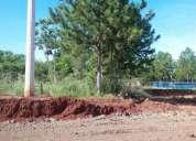 Lindo terreno sobre ruta en el barrio el lago