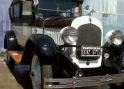 Vendo chrysler six 1928 4 doors