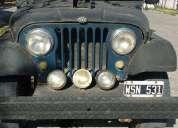 Vendo permuto jeep ika año 58 motor original
