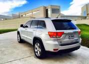 Jeep grand cherokee overland 2012, buen estado.