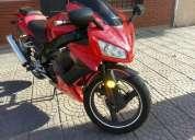 Vendo moto keller 260m año 2012