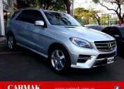 Mercedes benz ml350 2014 20.000 km. contactarse